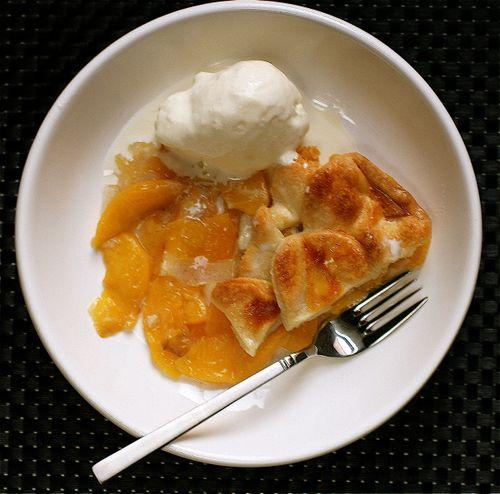... Word: Top Crust Peach and Cardamom Pie with Cardamom-Vanilla Ice Cream