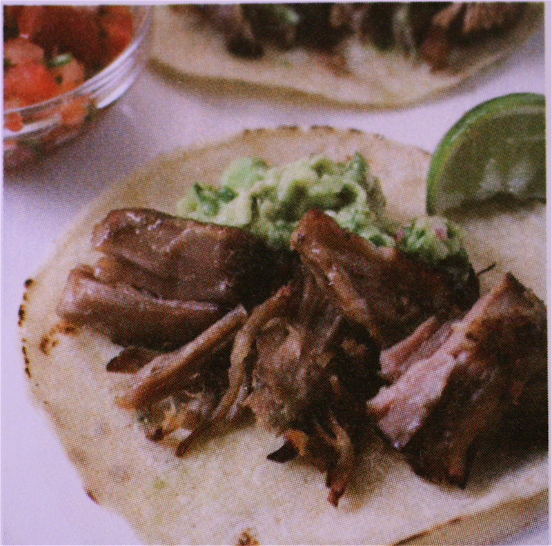 The Bitten Word: Mexican Pulled Pork (Carnitas) Tacos with Corn-and ...